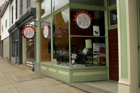 Richmond Bike Shop store front, RVA,