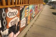 En Su Boca Art Wall