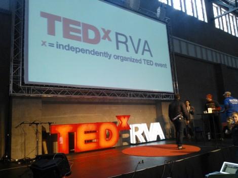 TEDxRVA Stage