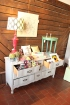 Refinished Dresser and an assortment of other crafts.